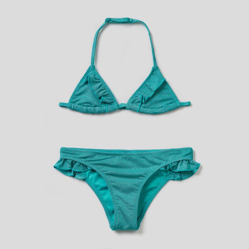 Bikini with lurex