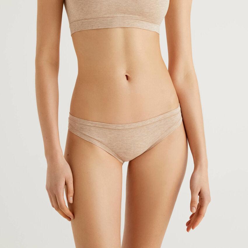 Stretch cotton string underwear