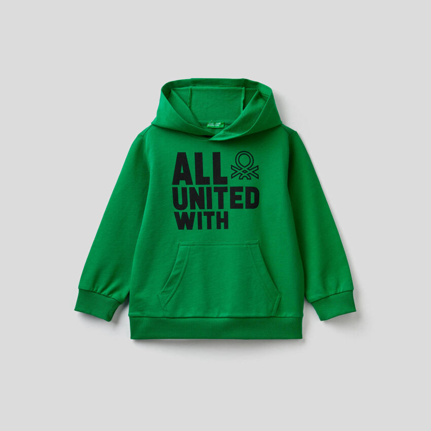 100% cotton hoodie