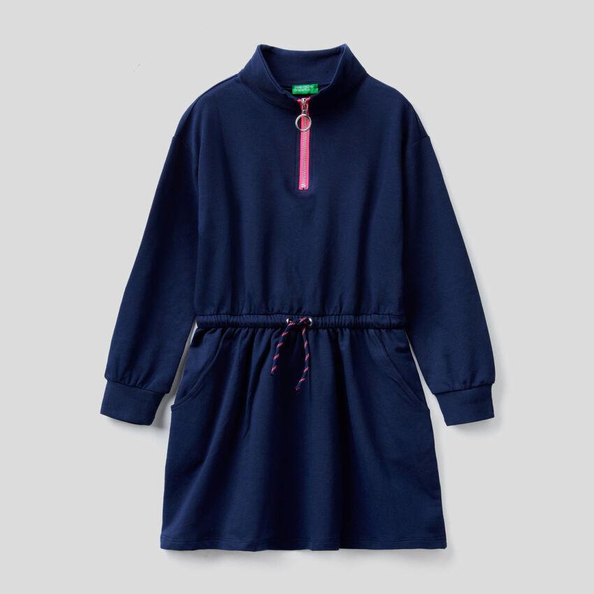 Organic cotton sweat dress
