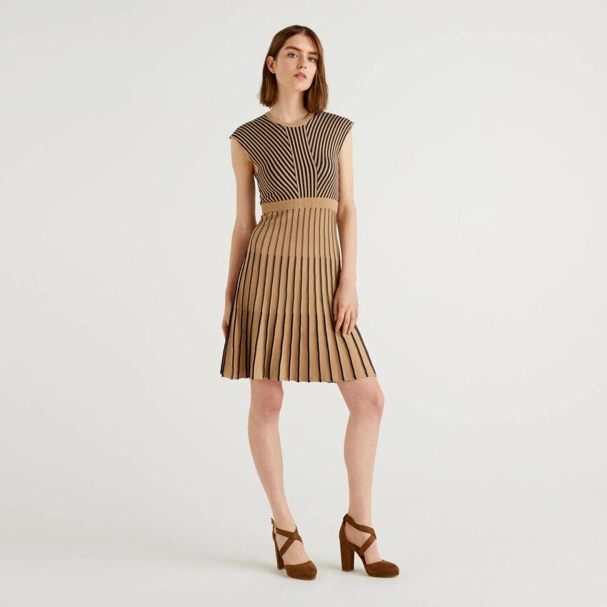 100% cotton knit dress