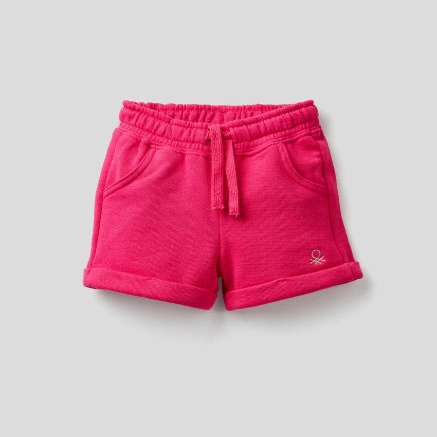 Shorts in light fleece