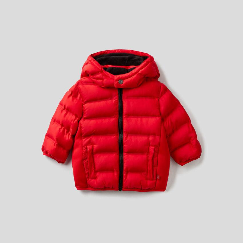 Jacket with detachable hood