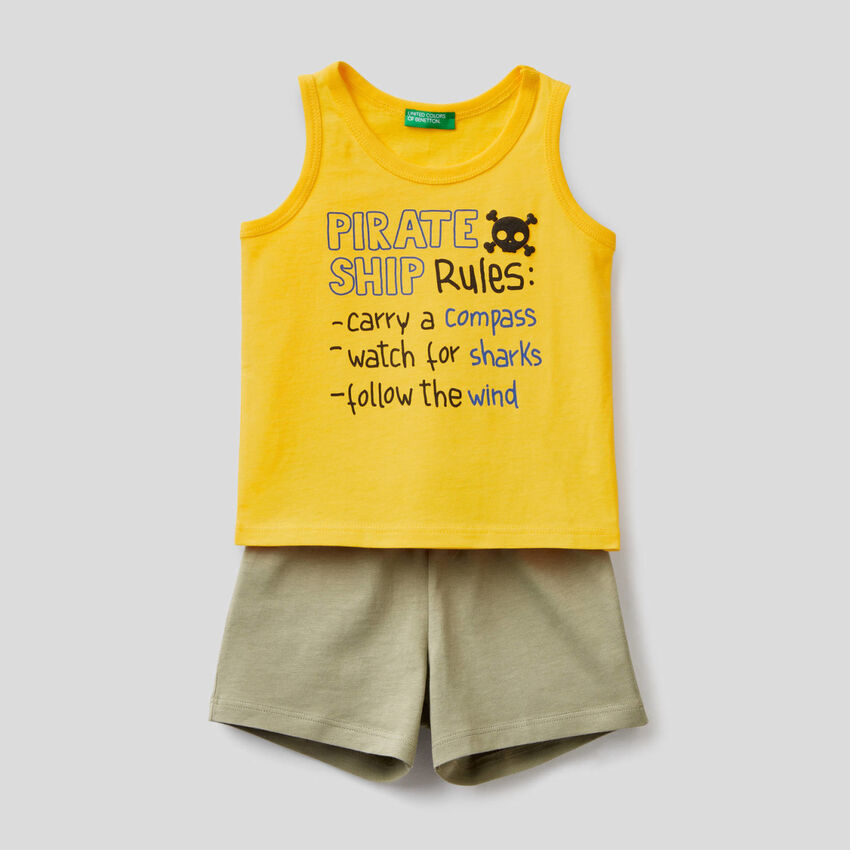 Tank top and shorts set