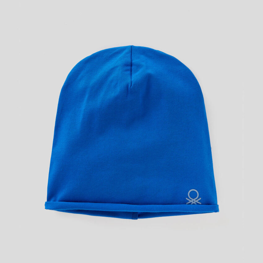 Hat in 100% cotton jersey