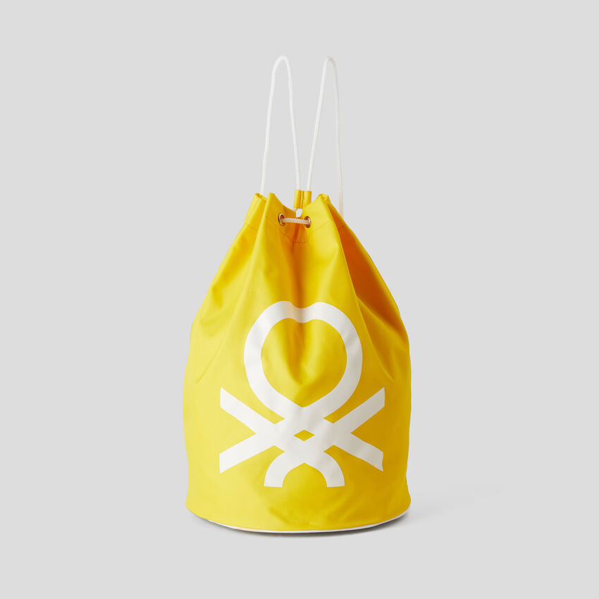 Unisex sack with maxi logo
