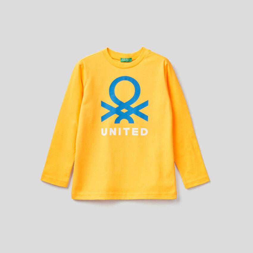 Long sleeve organic cotton t-shirt